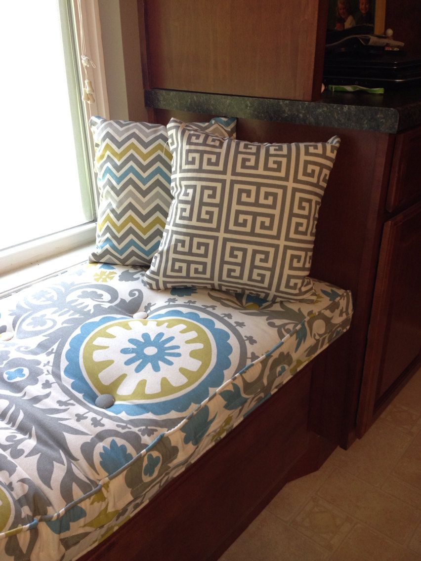 Custom On Tufted Window Seat Cushion By Hearthandhome 154 00