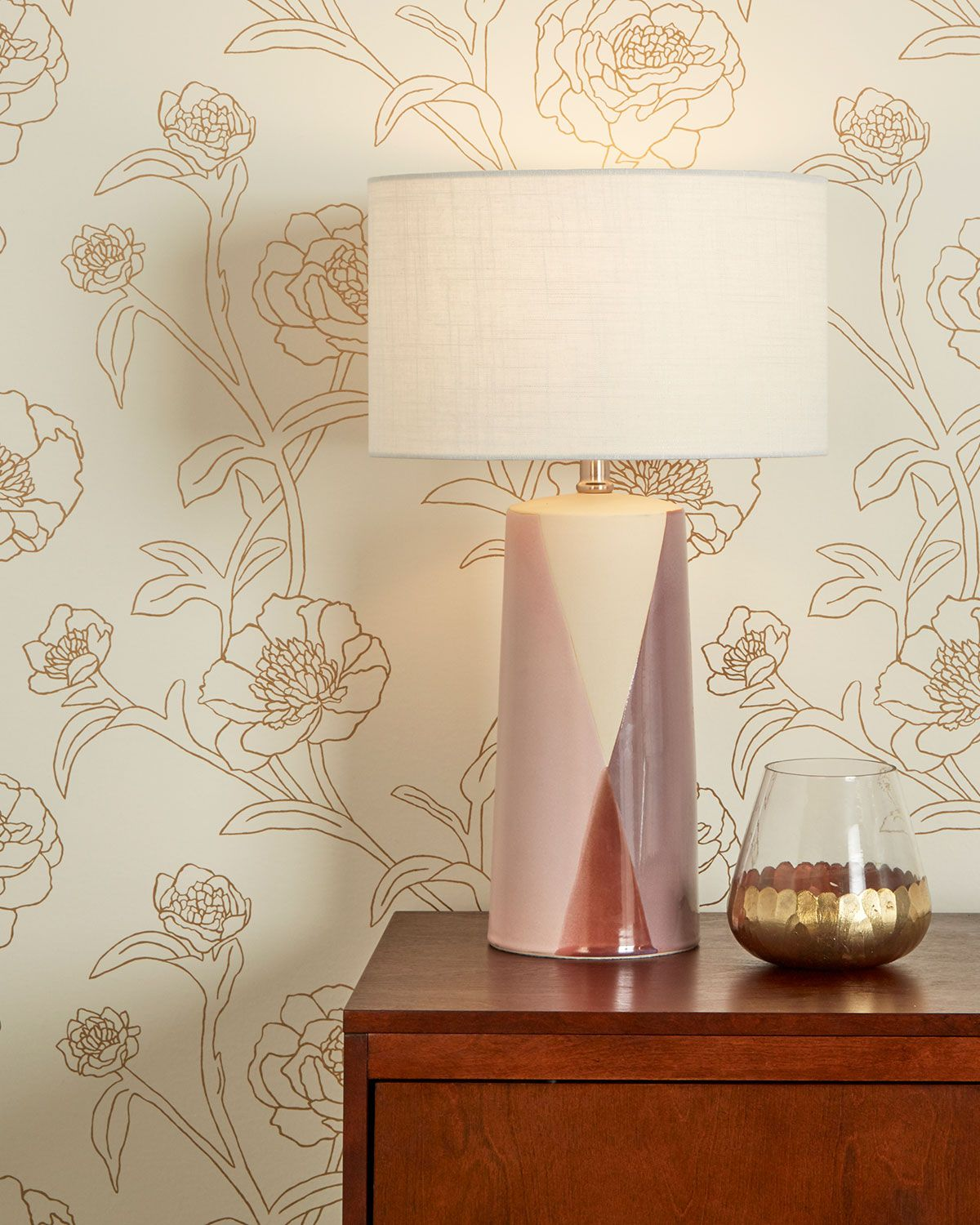 Tempaper Peonies Removable Wallpaper In 2020 With Images Removable Wallpaper Leaf Wallpaper Peony Wallpaper