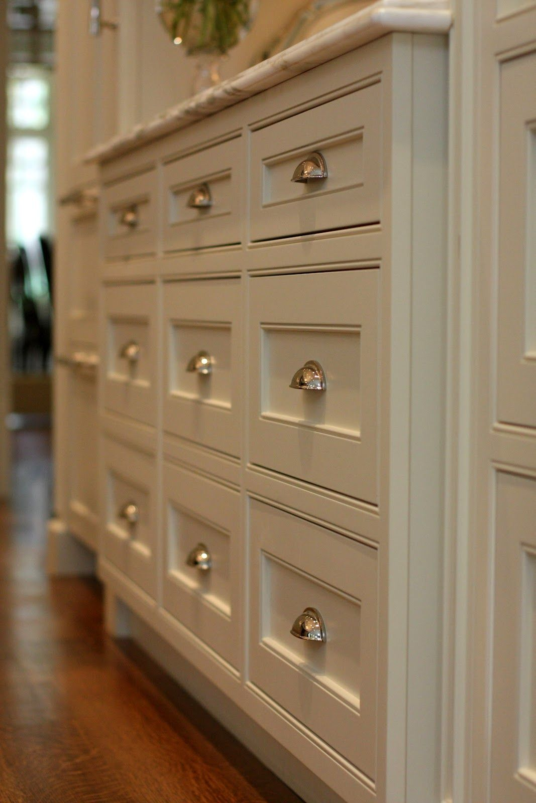 Beaded Inset Cabinets Close Up Drawer Detail Inset Cabinets Home Beautiful Kitchens