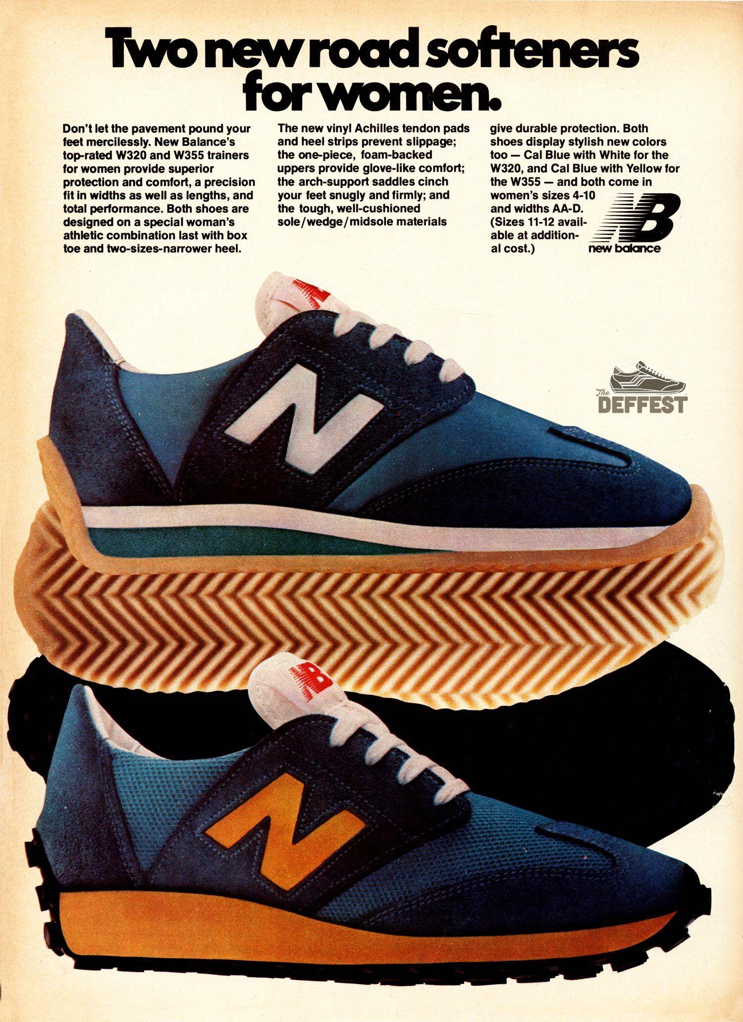 New Balance 1979 W320 and W355 vintage