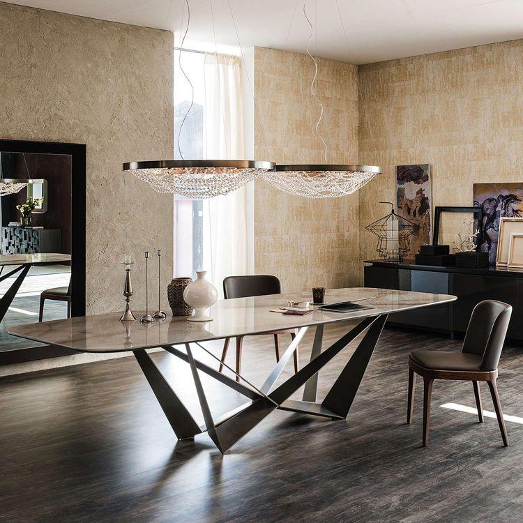 Classic Contemporary Modern Italian Design Ylighting Ideas Keramik Dining Table Italian Dining Table Modern Italian Home