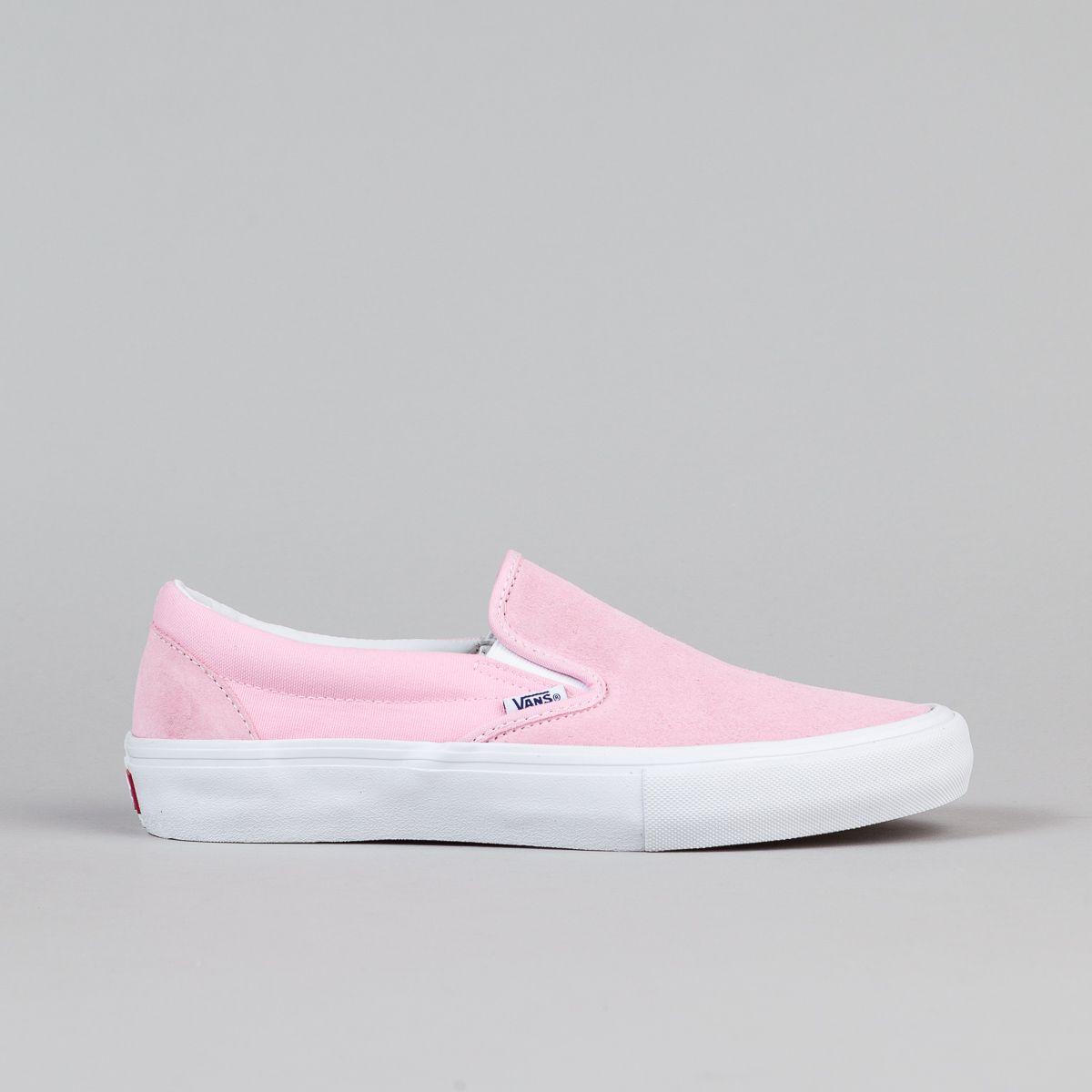 Vans Slip On Pro Shoes Candy Pink White Vans Slip On Vans Slip On Pro Slip On
