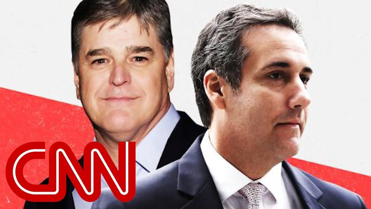 Michael cohens unnamed third client is sean hannity