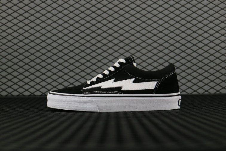 Revenge X Storm Vans Old Skool Skateboard Canvas Black White Vans For Sale Vans Vans Old Skool Black And White Vans Vans