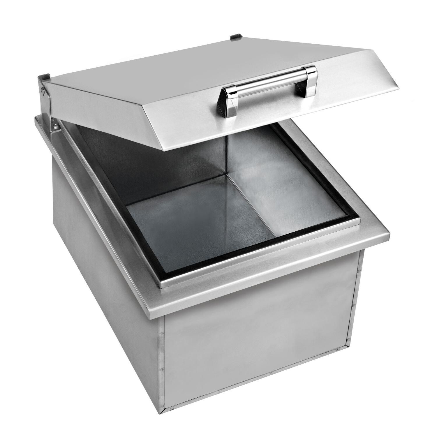 Delta Heat 15 Inch Drop In Stainless Steel Ice Bin Cooler