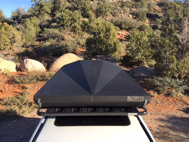 Eezi-Awn Stealth Hard Shell Roof Top Tent & Eezi-Awn Stealth Hard Shell Roof Top Tent | Overlander Defender ...