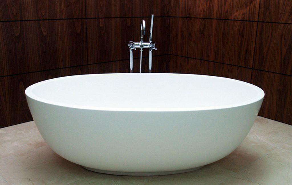 bathtubs | elegant modern white small freestanding bathtubs | Ideas ...