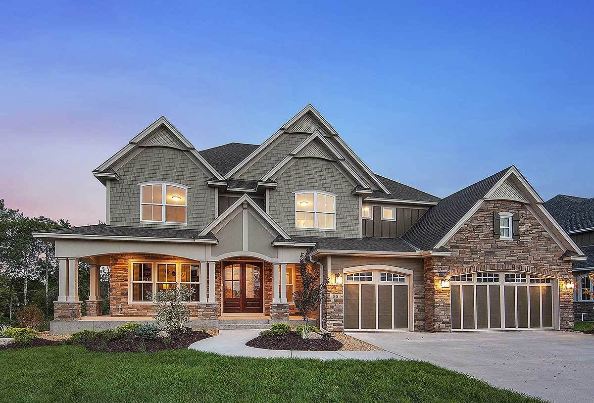 House Plan 73330HS Craftsman With Amazing Great