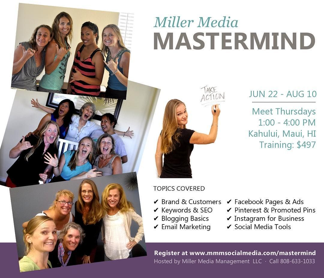 It's official! Miller Media Mastermind is hosting a coed