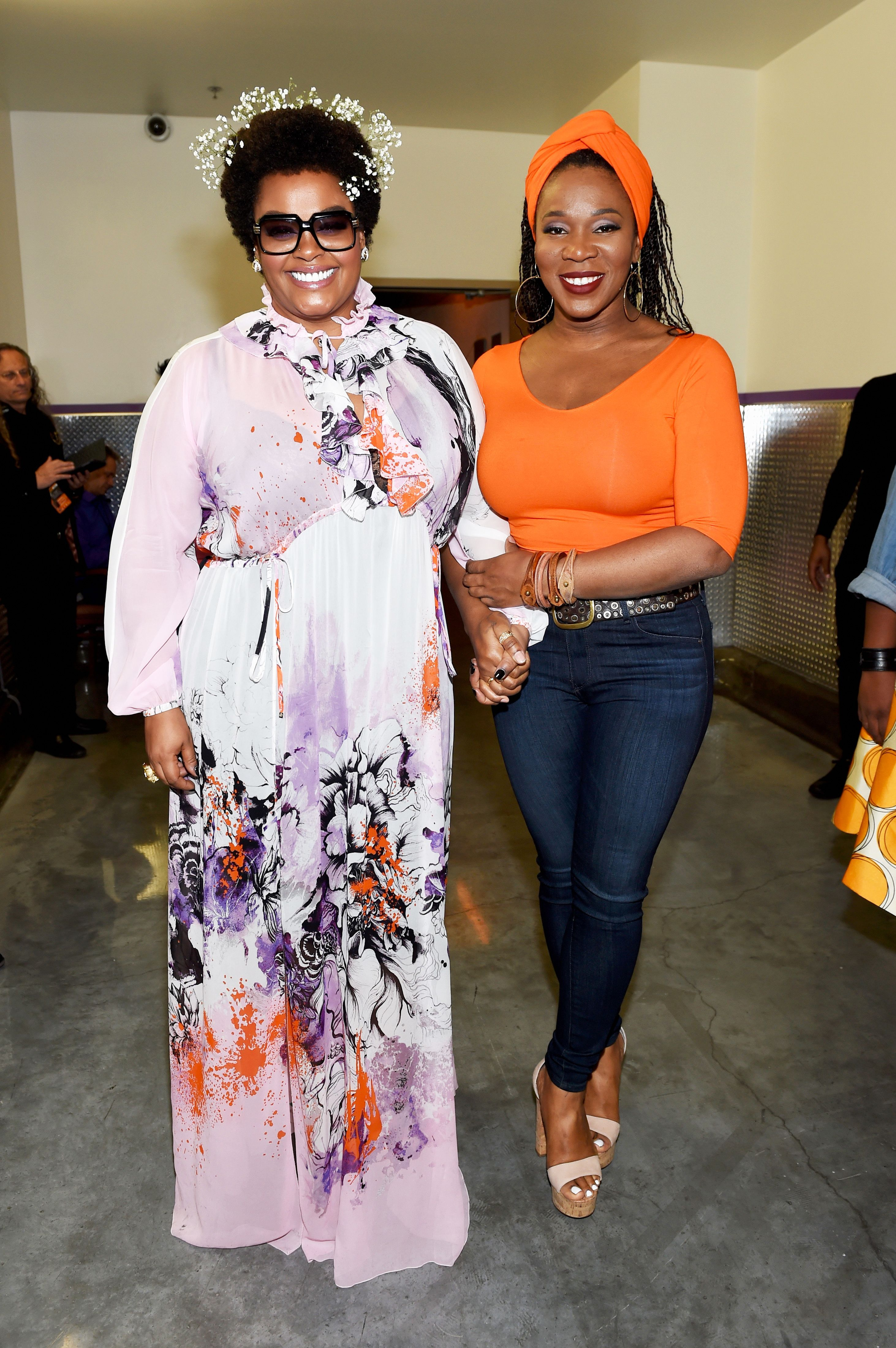 Soul Queens Jill Scott And Indiaie Blessings And Beautiful