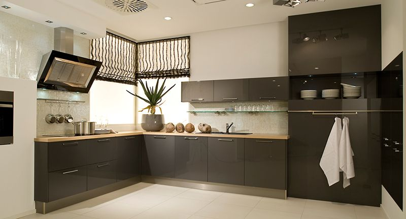 Grey Is A Popular Kitchen Colour Choice And Particularly The Smokey Tones  Of The Anthracite Gloss