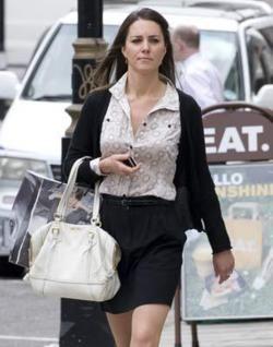 Summer Of 09 Carrying Her White Prada Bag