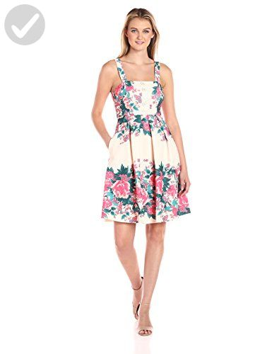 48c8c87b009d Plenty by Tracy Reese Dresses Women's Kelsi, Floral Stripes, 12 - All about  women (*Amazon Partner-Link)