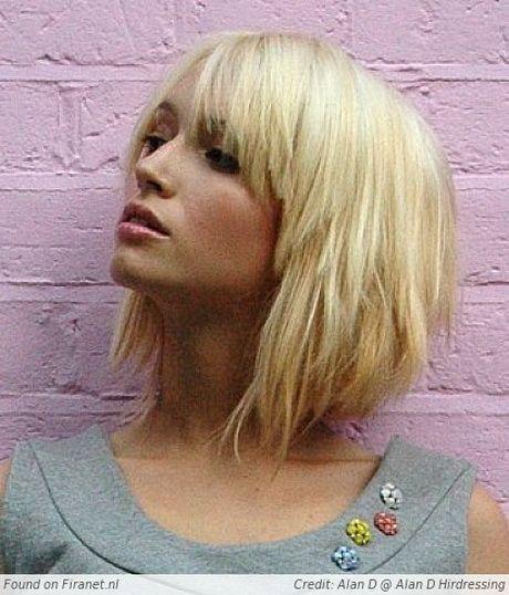 Medium Blonde Hairstyles Kapsels Halflang Steil Haar  Hair  Pinterest  Haircuts Hair