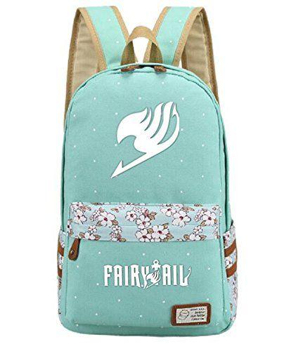 Gumstyle Fairy Tail Anime Cosplay Backpack Shoulder Bag Rucksack Schoolbag Knapsack for Boys and Girls