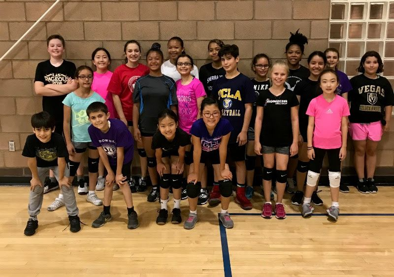 The Award Winning Las Vegas Boot Camp Volleyball Class Winter Schedule Volleyball Training Boot Camp Class Volleyball Camp