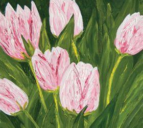 My Favorite Pink Tulips