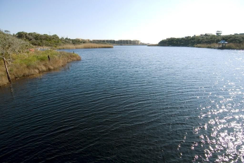 View of the Lake from Sanctuary at Redfish