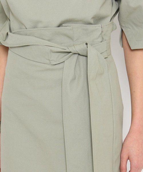 【セール】【Domani4月号掲載】 ラップ風キャンバスリボン スカート (500109212) | ドレステリア(DRESSTERIOR) - MAGASEEK
