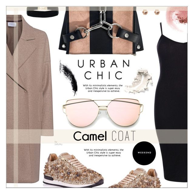 """Wear a Camel Coat!"" by befunky on Polyvore featuring Harris Wharf London, Alexander Wang, Boohoo, NARS Cosmetics, polyvorecommunity, camelcoat and PolyvoreMostStylish"