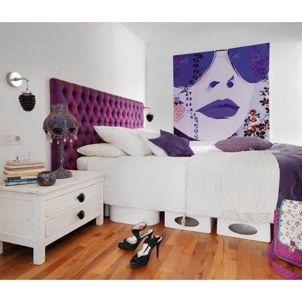 Amazing Punk Design Cues For A Teenageru0027s Bedroom   Home Decorating Trends ❤ Liked  On Polyvore Featuring Ideas
