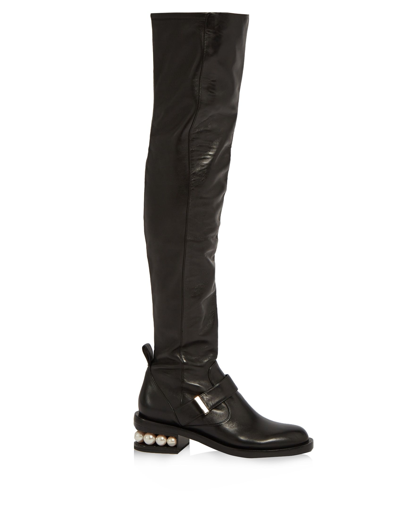 Nicholas Kirkwood Leather Cowboy Boots aoIesYu