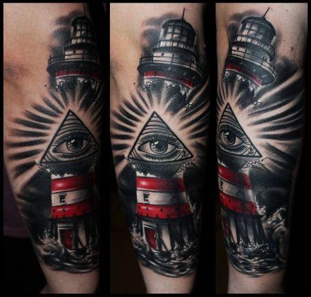 Pin von david schmitz auf tattoos - Tattoo leuchtturm ...