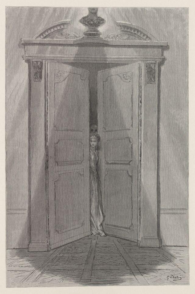 ... Doré (1832-1883) \\\\\\\\u0027The World Destroyed By Water.\\\\\\\\u0027 | World Beyond The Curtain | Pinterest | Illustrations. Image Number 88 Of Raven Door . & Raven Door \u0026 \