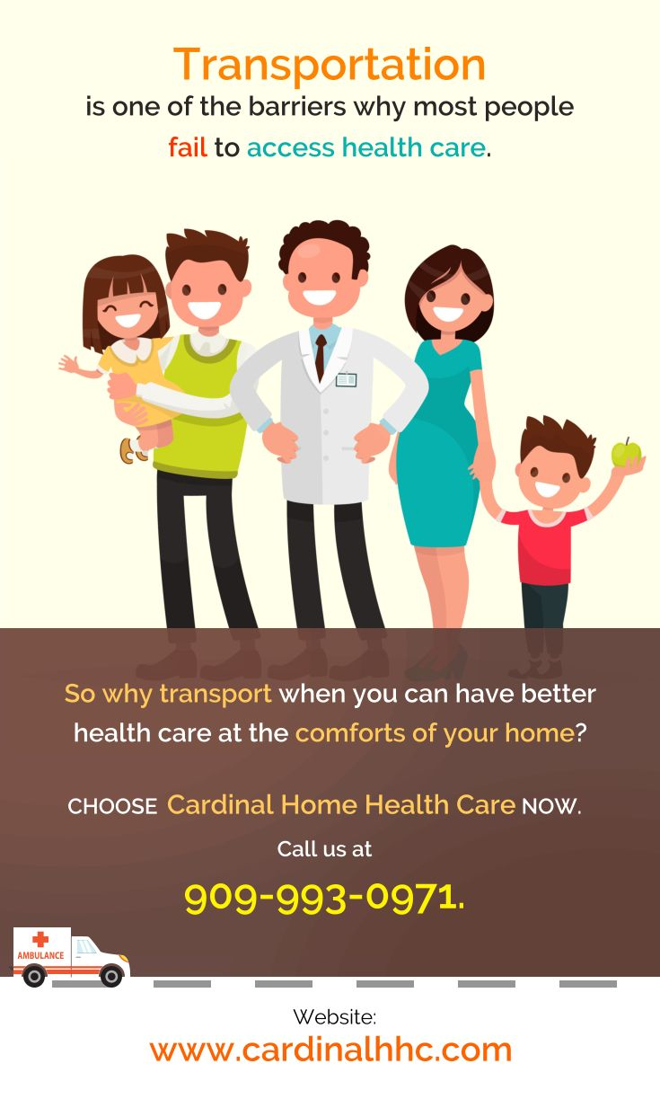 Transportation is one of the barriers why most people fail to access healthcare. #healthcare #CardinalHomeHealthcare