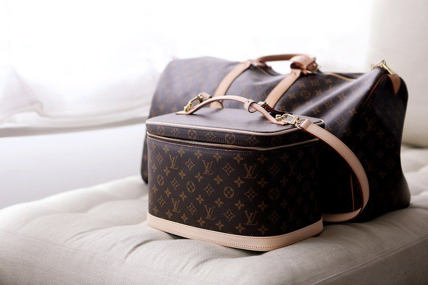 90b0def57c93 Oh just hold on a minute I need to grab my Louis Vuitton overnight bag and  matching train case...haha in my dreams