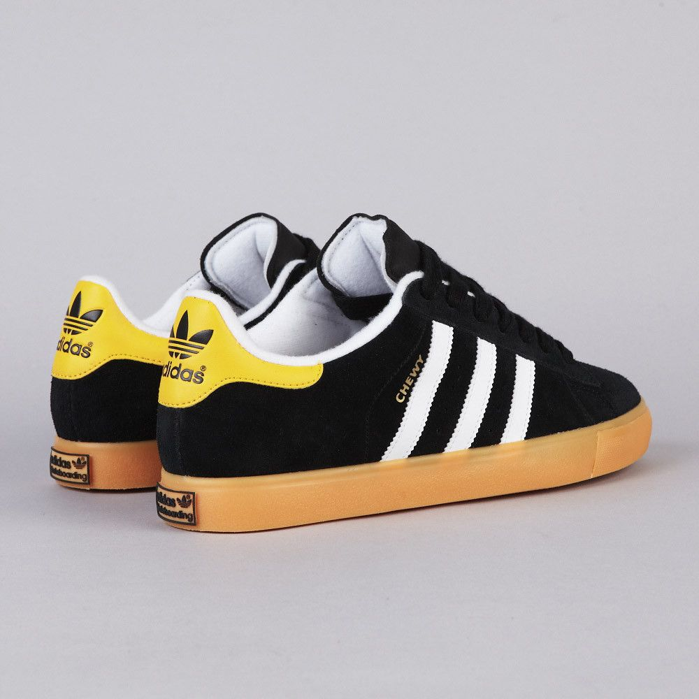 ADIDAS CAMPUS VULC 'CHEWY' BLACK1 / RUNNING WHITE FTW / SUN