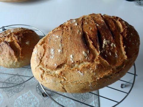 Como hacer pan (Fácil) - YouTube
