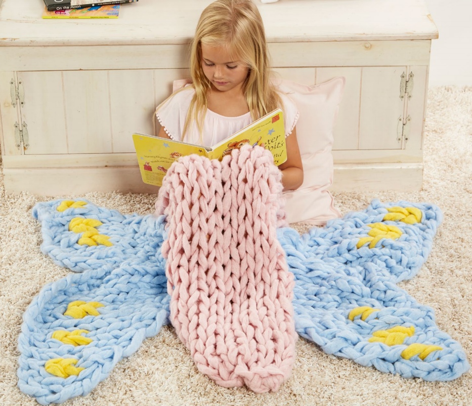 Free Knitting Pattern for Butterfly Sleep Sack - Arm Knit ...