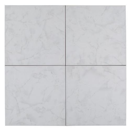 Cristal White Ceramic Tile 12in X 12in 100205400 Floor And