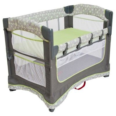 Arm/'s Reach Ideal Ezee 3 in 1 Baby Co-Sleeper Bedside Bassinet Natural NEW