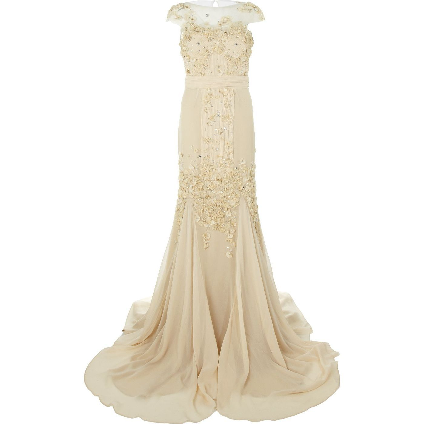 We think this embellished gown by badgley mischka from harrods on