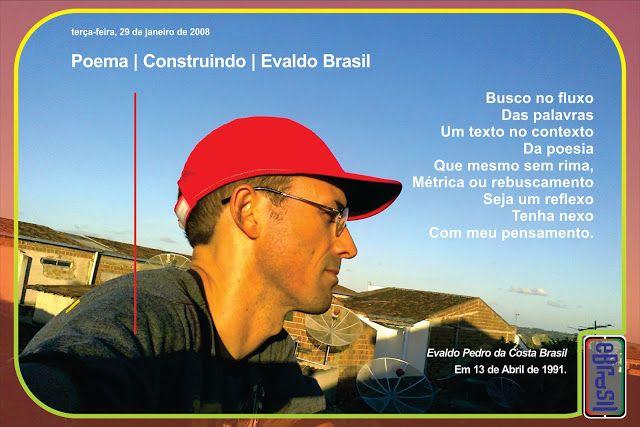 reeditadas: Poema | Construindo | Evaldo Brasil