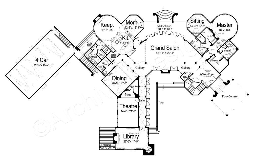 Chateau Novella House Plan Luxury House Plans Mediterranean Style House Plans Luxury Plan