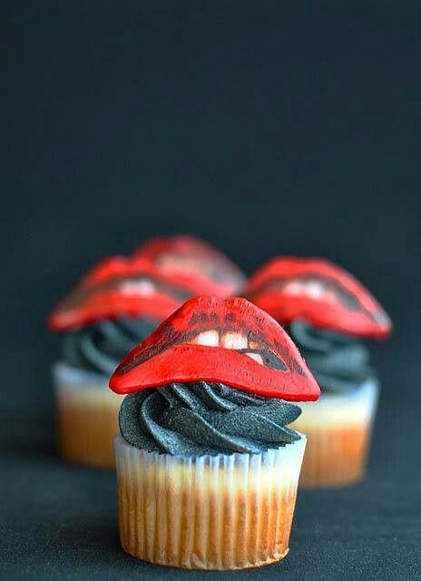 Rocky horror cupcakes!