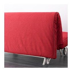 ikea ikea ps murbo sleeper sofa vansta red extra covers make it easy to give both your sofa and room a new and firm foam mattress - Sleeper Sofa Ikea