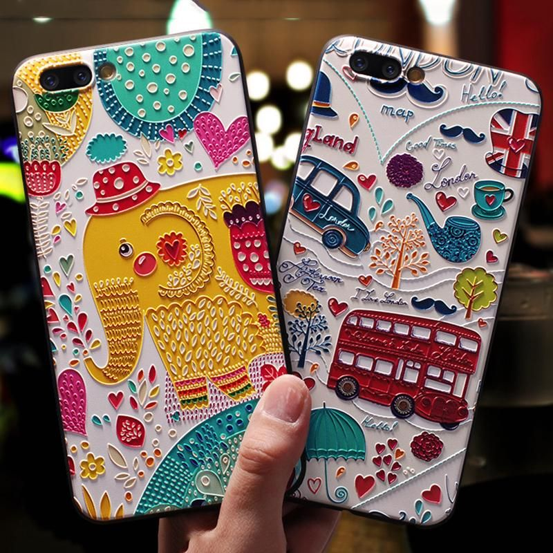Cartoon IPhonex /7plus Silicone Soft All-inclusive Shatter