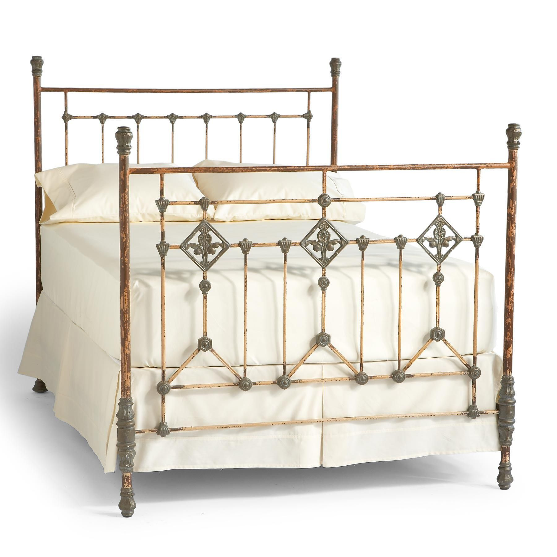 Handmade Steel Aluminum Bed Iron Bed Iron Bed Frame Bed
