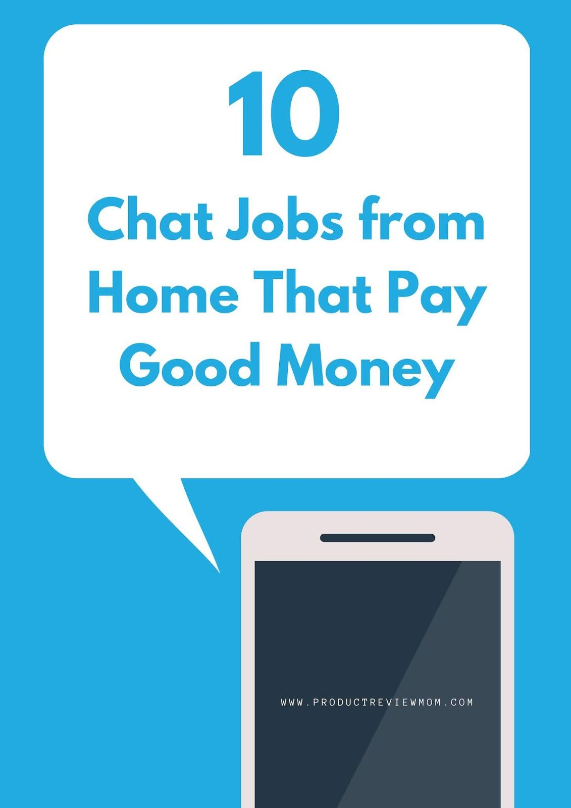 10 Chat Jobs from Home That Pay Good Money in 2019 Extra