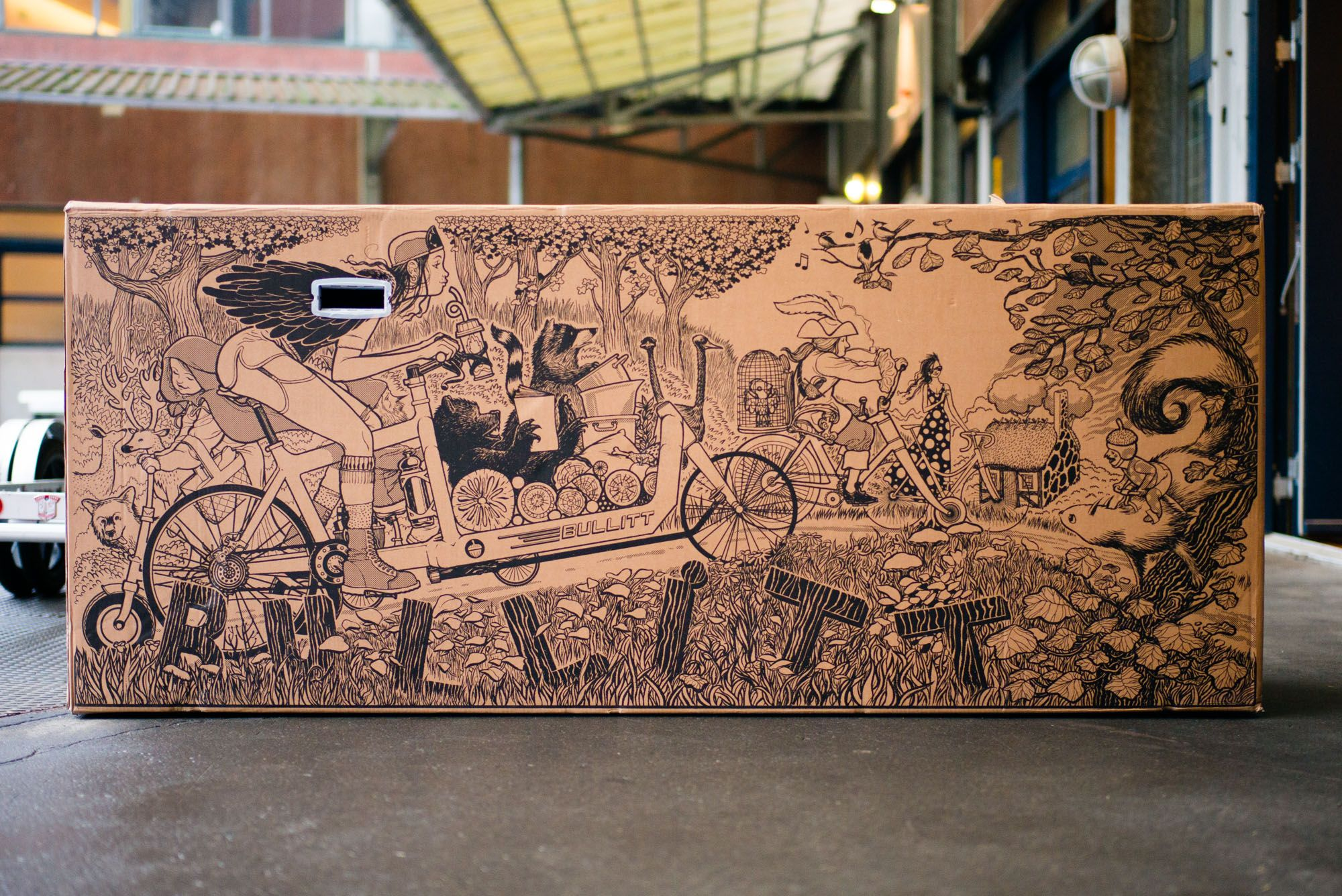 New packaging art (frame box side 1) | LifeCycle | Pinterest | Cargo ...