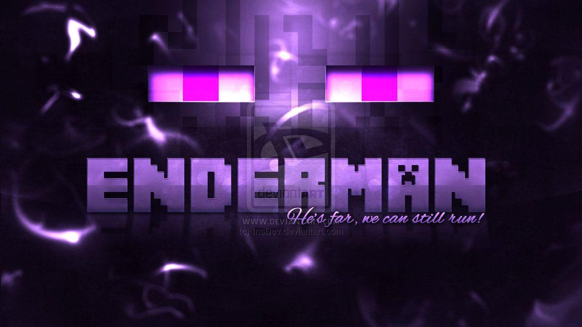 Enderman Minecraft Wallpaper Minecraft Posters Minecraft