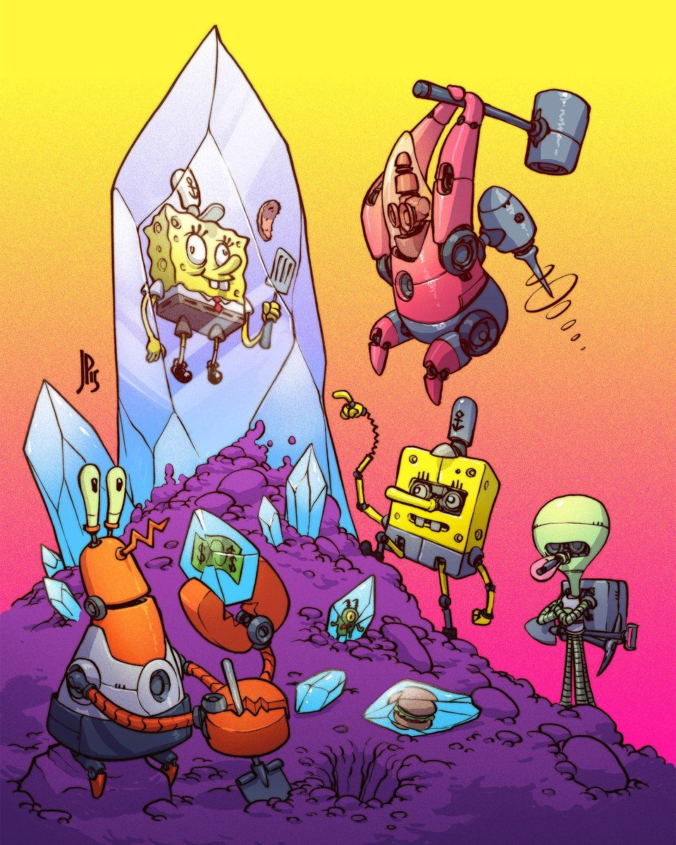 Spongebob Concept Art