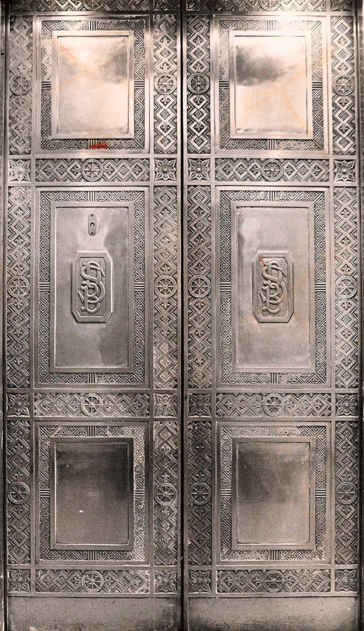 Amazing elevator doors in the david stott building detroit