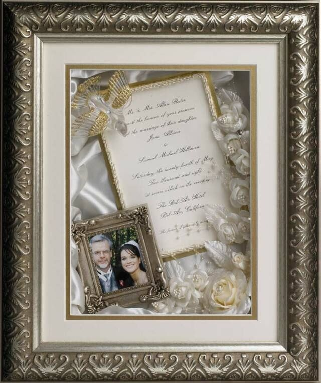 Shadow Box Idea For Parents 30th Wedding Anniversary Wedding