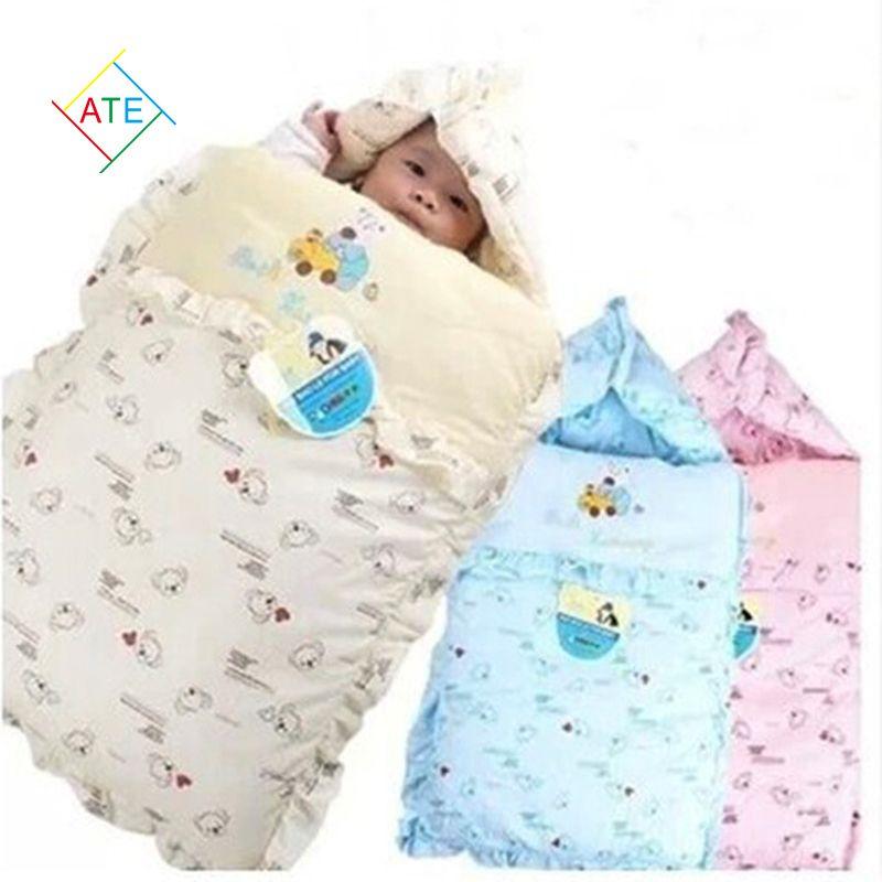 Hot Sale Cartoon Baby Stroller Sleeping Bags Winter Thicken Newborn Bedding Set PT171
