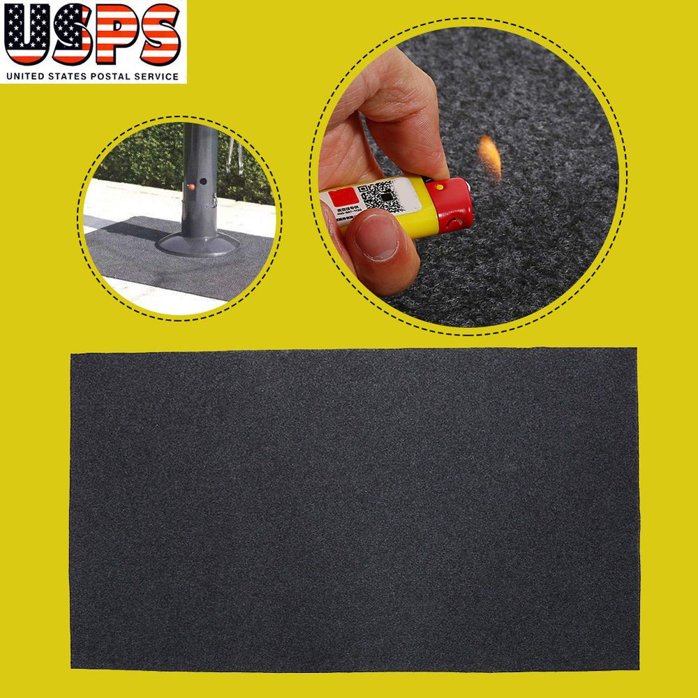 1 Bbq Floor Mat A Black High Quality Deck Protector Designed Exclusively For Gas Grills Cell Phones Accessories 3 Grill Mats Flooring Gas Grill